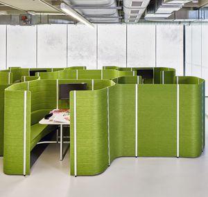isola di privacy per ufficio di Ronan & Erwan Bouroullec