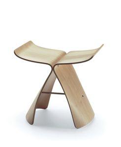 sgabello moderno / in legno compensato / in acero / in palissandro