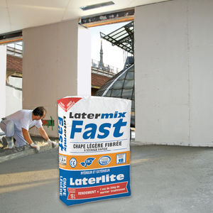 massetto ad asciugatura rapida / leggero / di argilla espansa / in cemento