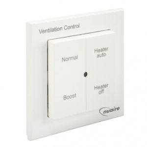 tastiera di controllo per impianti di riscaldamento / a muro / wireless