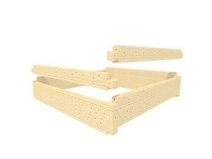 pannello da costruzione in bambù
