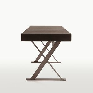 scrivania in quercia / in legno massiccio / moderna / di Antonio Citterio