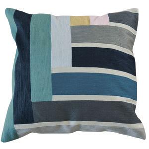 cuscino quadrato / rettangolare / a motivi / in cotone