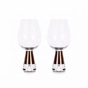 bicchiere da vino / in vetro soffiato / contract