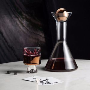 decanter in vetro