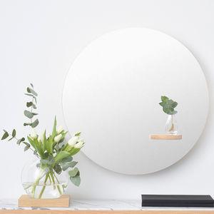 specchio a muro / da sala / per camera da letto / moderno