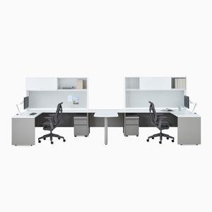 scrivania in metallo / moderna / modulabile