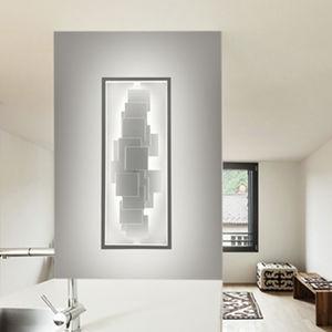 applique design originale / in acciaio / in pietra naturale / LED