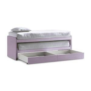 letto a castello / con letto estraibile / singolo / moderno