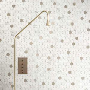 piastrelle da interno / da parete / in calcare / rettangolari