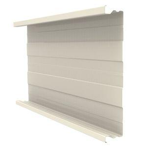 rivestimento di facciata in pannelli / in lamiera / in lamiera grecata / con giunti a doppia aggraffatura