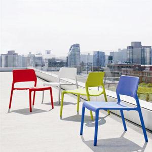 sedia moderna / impilabile / impermeabile / in plastica