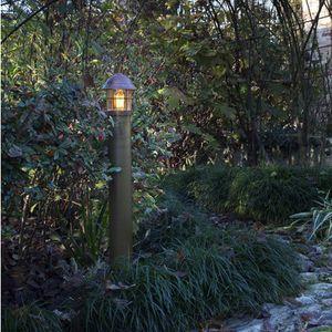 lampioncino da giardino / classico / in ottone / in rame