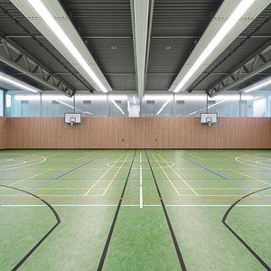 pavimentazione sportiva in linoleum