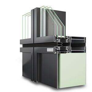 sistema di facciata in alluminio / in vetro