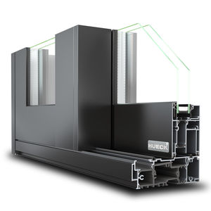sistema scorrevole in alluminio