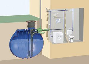 stazione di pompaggio filtrante