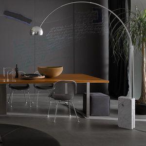 lampada da terra / moderna / in alluminio / in acciaio inossidabile
