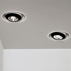 downlight da incasso a soffitto / LED / ellittico / in metallo