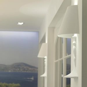 applique design originale / in vetro / LED / alogena
