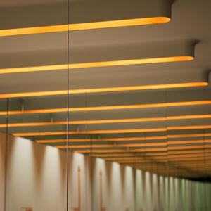 profilo luminoso da incasso / a soffitto / a lampada fluorescente / per uso residenziale