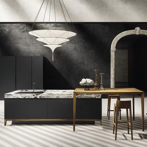 cucina moderna / in MDF / in alluminio / in laminato