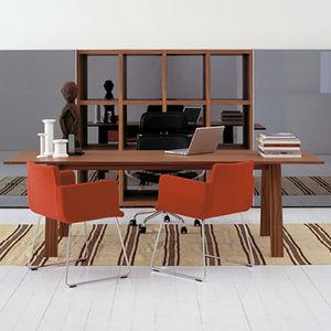 tavolo da riunione moderno / in noce / in frassino / in wengé