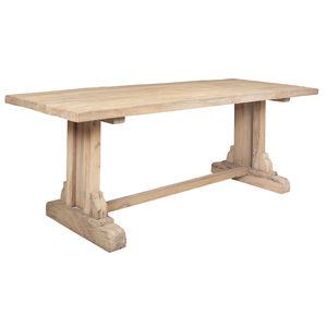 tavolo classico / in quercia / in legno oliato / in pino