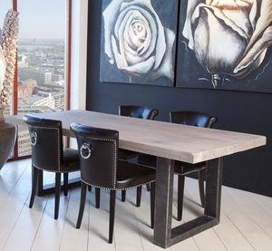 tavolo moderno / in quercia / in legno oliato / in pino