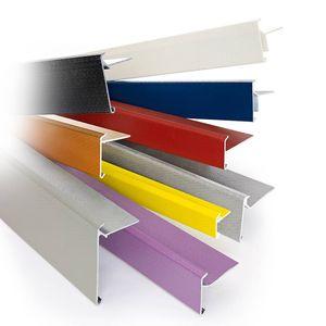 fascia perimetrale del tetto in PVC