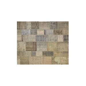 tappeto moderno / patchwork / in lana / rettangolare