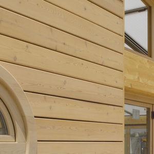 pannello da costruzione in legno lamellare / per facciate / per soffitto / su misura