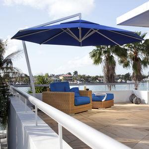 ombrellone a sospensione / contract / per hotel / per bar