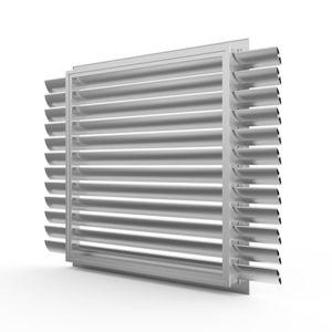 griglia di ventilazione in alluminio / rettangolare / quadrata / professionale