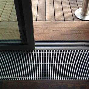griglia di ventilazione in alluminio / rettangolare / lineare / quadrata