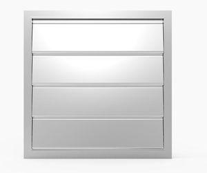 serranda di areazione in alluminio