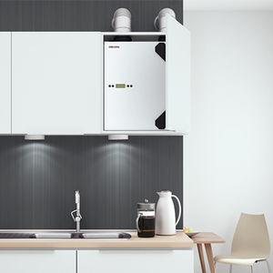 unità di ventilazione centralizzato / residenziale / per casa / per appartamento