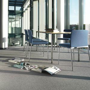 sedia da conferenza imbottito / con braccioli / impilabile / a schienale alto
