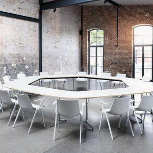 tavolo da conferenza moderno / in legno / in laminato / in metallo