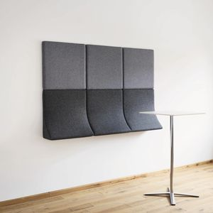 divanetto imbottito modulare / design originale / in tessuto / per centro estetico