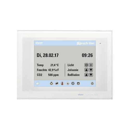 touch screen per sistema domotico