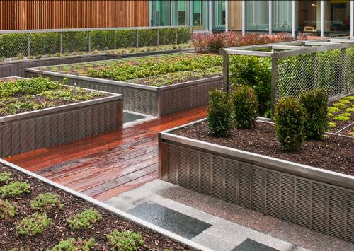 bordura da giardino / in metallo / in altezza