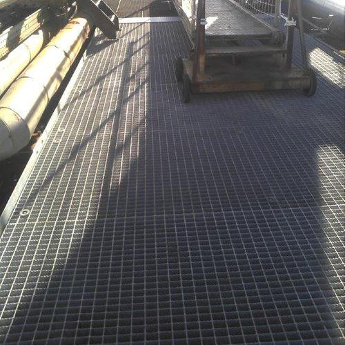 grigliato elettroforgiato / in acciaio / di sicurezza
