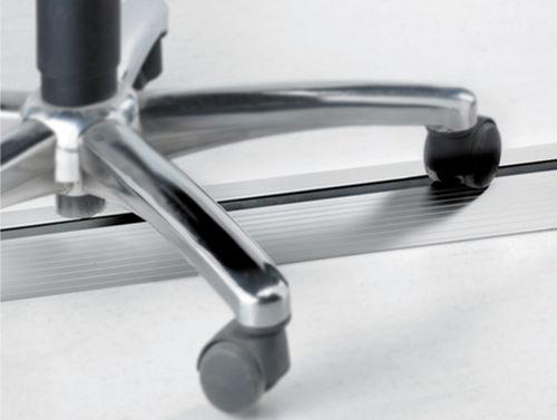 proteggicavi in alluminio anodizzato