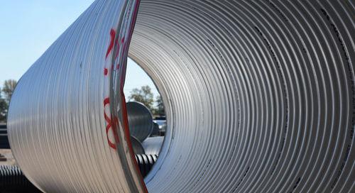 canalizzazione in metallo