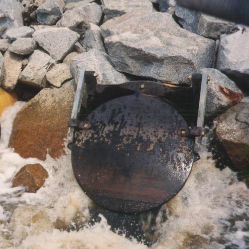 valvola per controllo acque