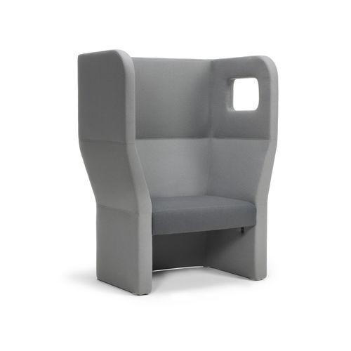 poltrona visitatore moderna - True Design srl