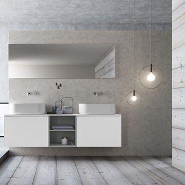 mobile lavabo doppio