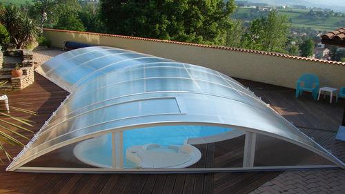 copertura per piscina bassa - abridéal