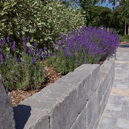 blocco di calcestruzzo pieno / per recinzione di giardino / per muro / per muro di contenimento
